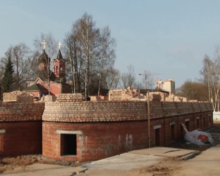 Строительство храма Ивантеевка весна 2014