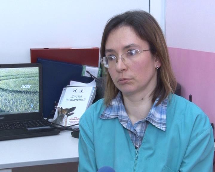 Ветеринар Марина Арестова