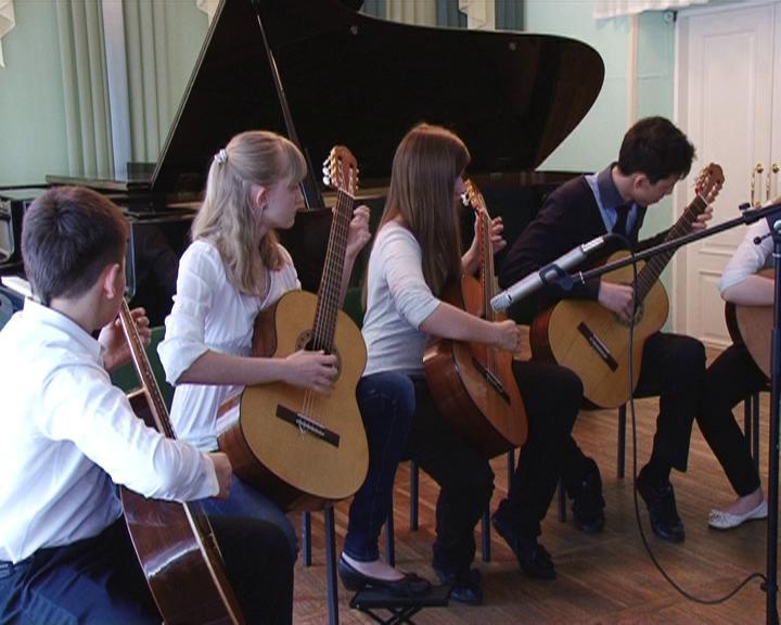 Выступление в музыкальной школе Ивантеевки