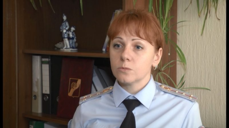 Инспектор полиции Ивантеевки Теплова