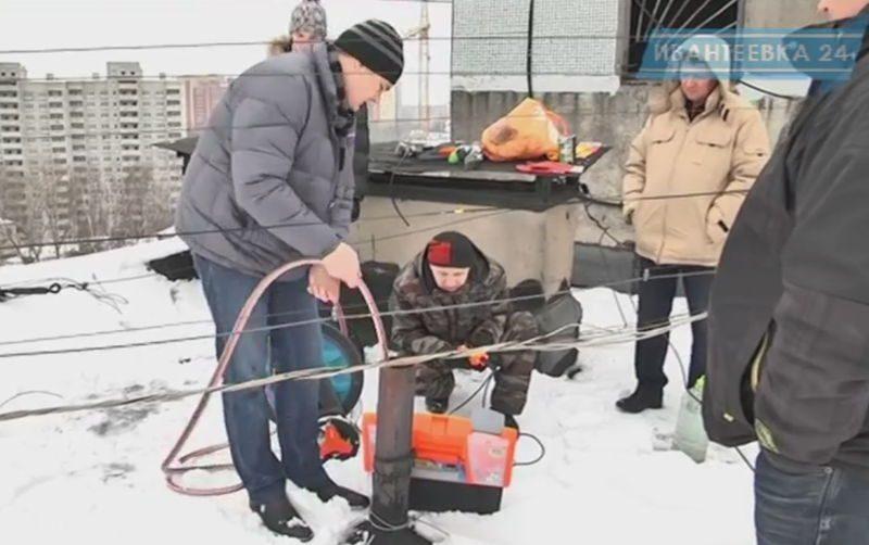 перекрытие канализации Терминатор