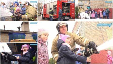 Детский сад в гостях у пожарных