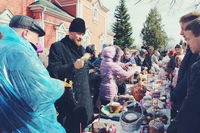 Пасхальный праздник Ивантеевка