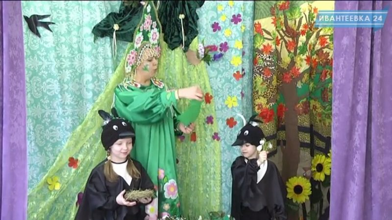 Театральная постановка в детском саду