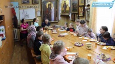 Photo of Ветеран Михаил Чащарин в гостях у воскресной школы Георгиевского храма