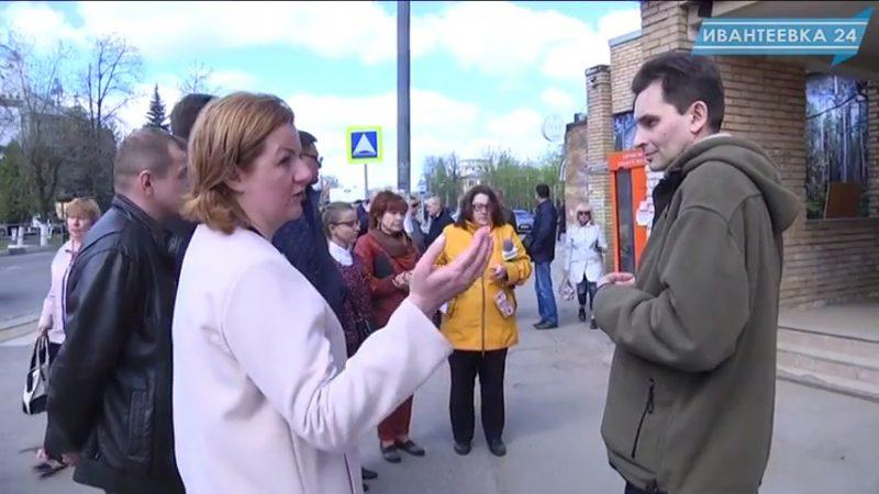 Елена Ковалева обход города