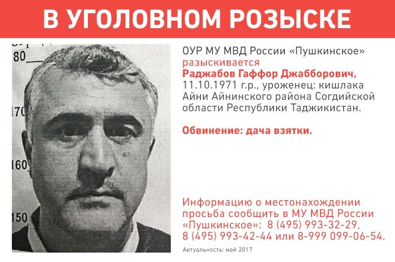 Уголовный-розыск-Раджабов-Гаффор-Джабборович