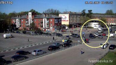 Photo of Видео утреннего ДТП в центре Ивантеевки