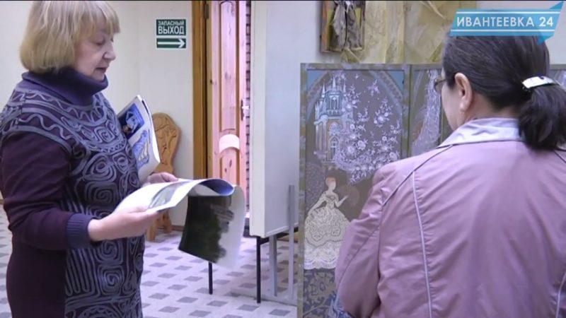 Выставка Наталья Савенко ширмы