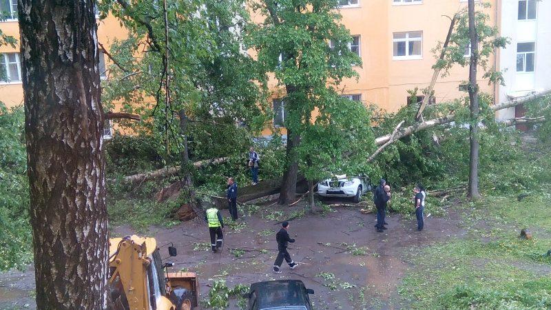ураган Ивантеевка