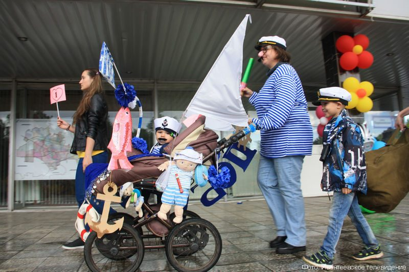 начале октября, парад колясок фото оригинальные в украине самый длинный