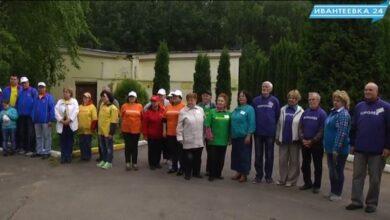 Участники турнира по мини гольфу