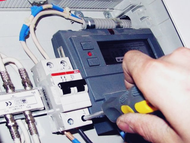 Замена счетчика электричества
