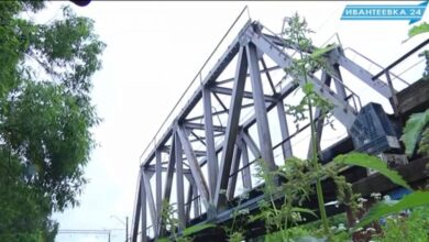 Железнодорожный мост Ивантеевка