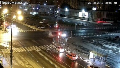 Photo of Ночное ДТП в Ивантеевке 27.08.17. Видео с 2-х камер