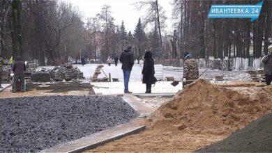 Строительство пешеходной улицы