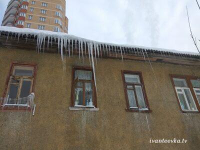 Улицы Ивантеевки после уборки снега 21