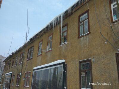 Улицы Ивантеевки после уборки снега 22