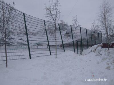 Улицы Ивантеевки после уборки снега 40