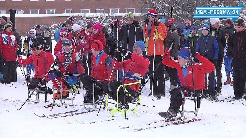 паралимпийцы лыжная гонка
