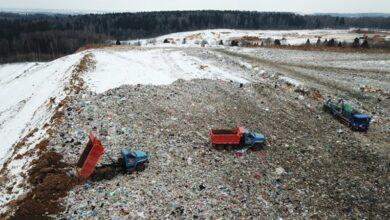 свалка мусора ТБО