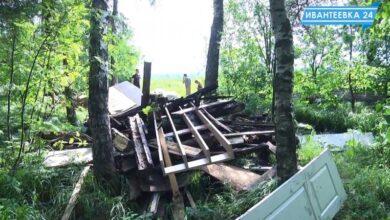 Photo of Несанкционированная свалка на въезде в Ивантеевку со стороны Левково