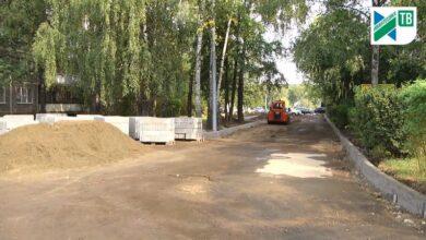 новые дороги во дворе