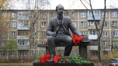 Открытие памятника Лыжину   35