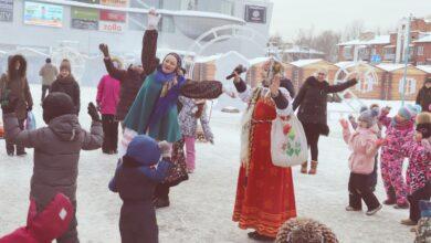 Городские гуляния на Старый Новый год
