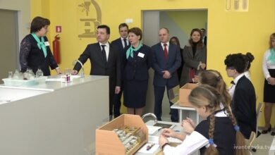 Воробьев новая школа Ивантеевка