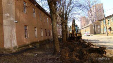 Школьная улица ремонт дорог