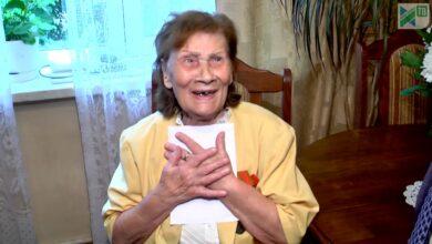 Photo of Поздравление с 90-летием Анны Григорьевны Пыщевой