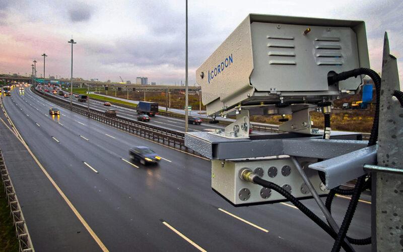 камеры средней скорости на трассе