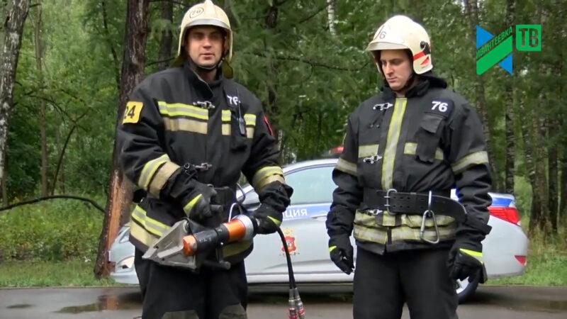 пожарники спасатели