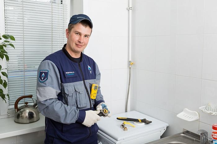 сотрудник газовой службы