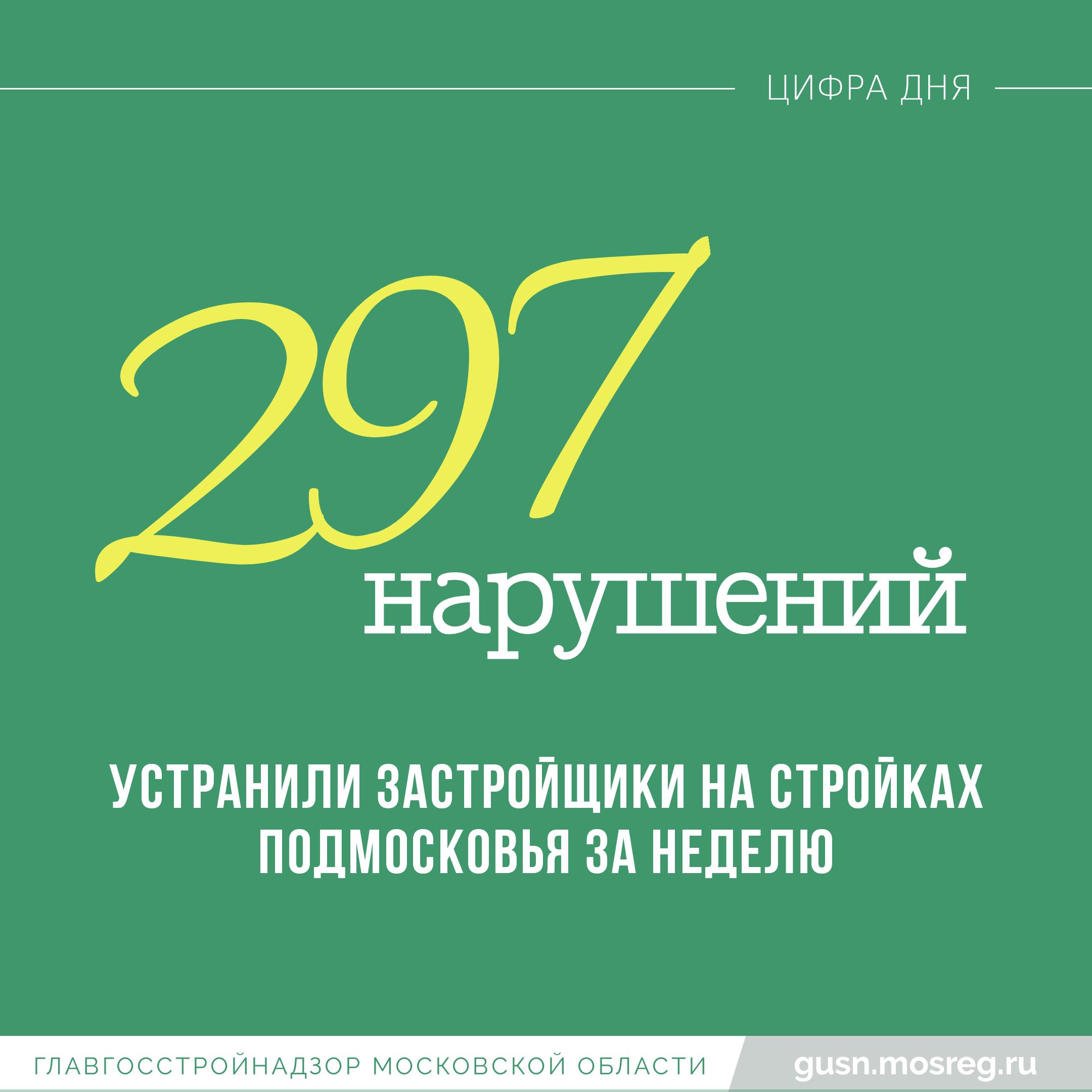 297 нарушений