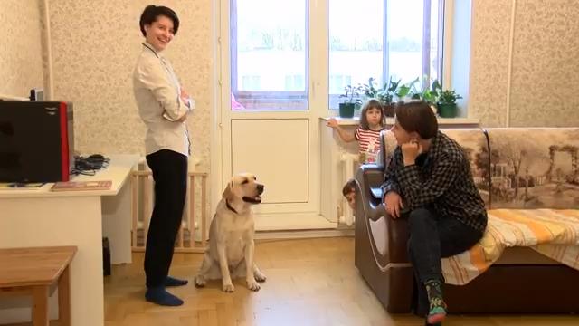 Колесниковы из Ивантеевки  10 детей, лабрадор и рыбки 00 02 28