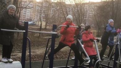 Photo of Участники программы «Активное долголетие» осваивают тренажерные площадки Ивантеевки