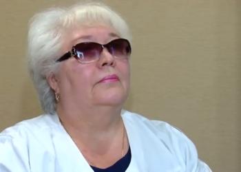 Валентина Лаптева  почти полвека в сфере здравоохранения. 00 02 10