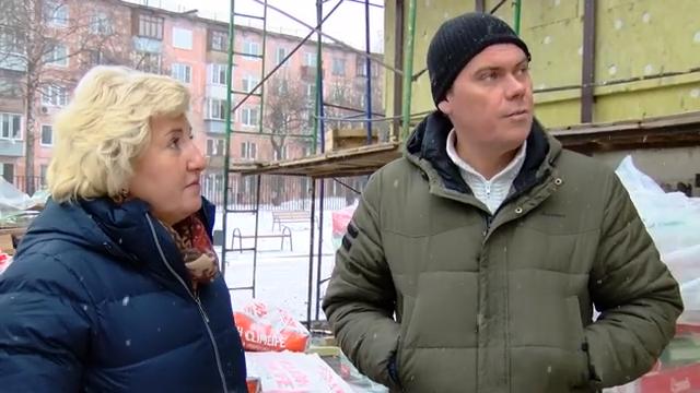 Алла Полякова посетила строительные площадки города 00 00 58