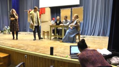 Photo of С репетиции спектакля, посвященного судьбе Новомучеников Ивантеевских