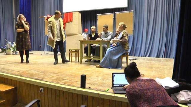 Генеральная репетиция спектакля, посвящённого судьбе Ивантеевских новомучеников 00 00 01
