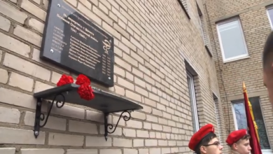 Photo of Памяти медицинских работников открыта мемориальная доска