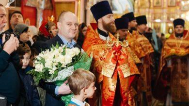 Photo of Архиерейская служба, посвященная Ивантеевским и Королевским мученикам
