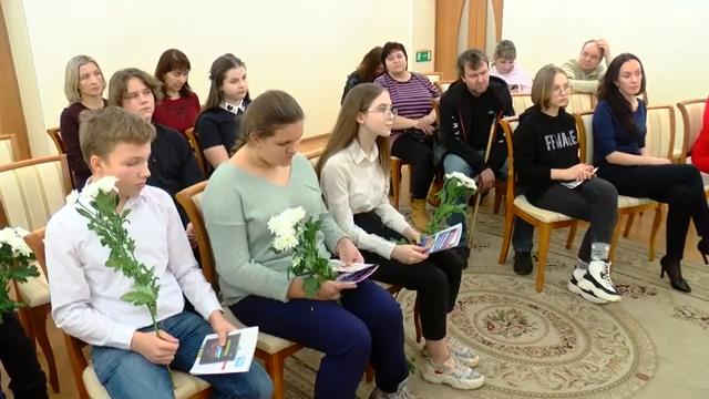 В День Конституции получить паспорт гражданина РФ   особо почётно 00 01 43