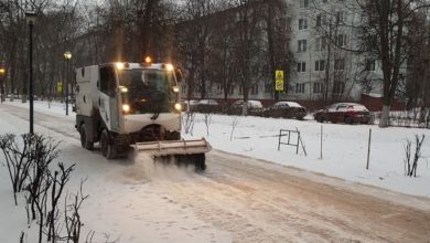 Photo of Ликвидация последствий снегопада 28.01