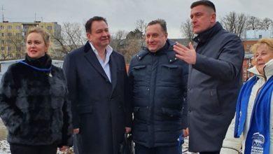 Photo of Совет депутатов г.о. Ивантеевка провел проверку ремонта моста-плотины