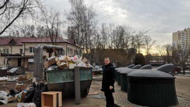 Photo of Члены Общественной палаты Ивантеевки провели мониторинг контейнерной площадки