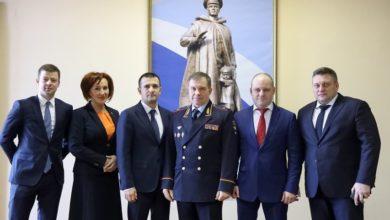 Photo of Максим Красноцветов принял участие в ежегодном заседании коллегии ГУ МВД России по МО