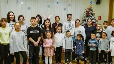 Photo of Молодогвардейцы и активисты Молодежного парламента поздравили ребят из социально-реабилитационного центра «Теремок» с праздниками!